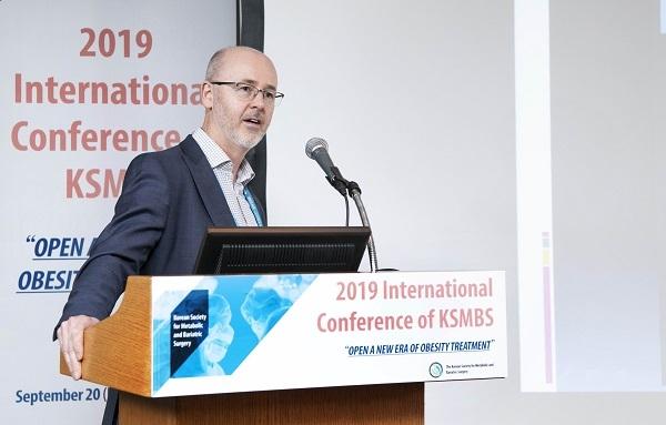 메드트로닉코리아가 '2019대한비만대사외과학회 국제학술대회'를 통해 고도비만의 치료성에 대해 강조했다.